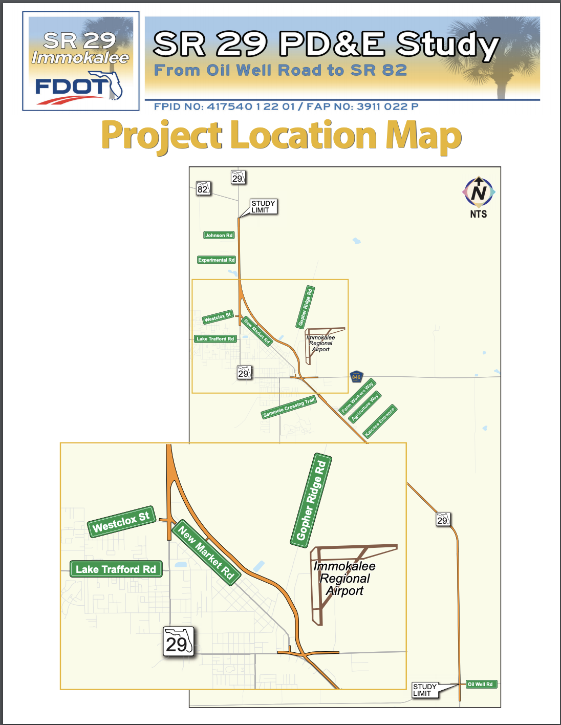 SR 29 Collier Project Map